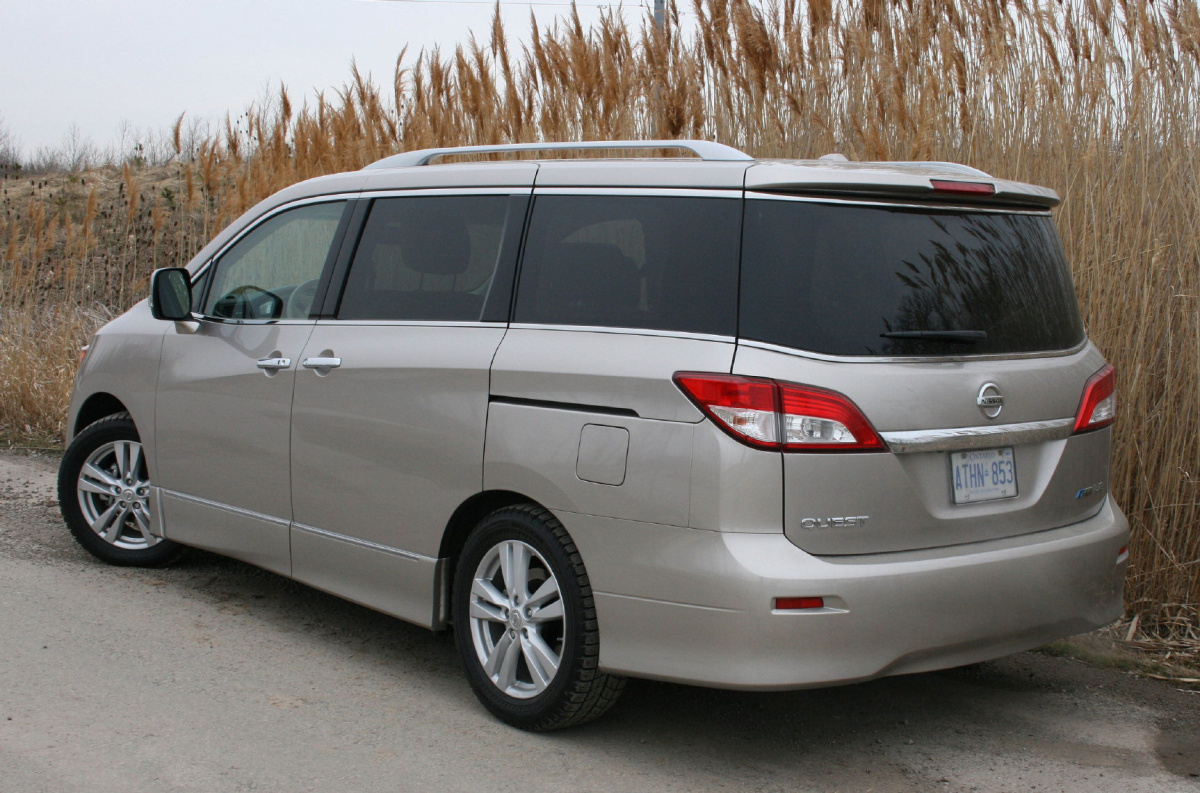 2011 Nissan Quest Funky Looking Van And Swanky To Boot