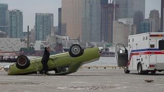 Still flipping for gold -- Figure Skater turns stunt driver