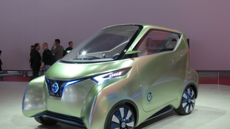 Paris auto show: Wacky, futuristic concept cars