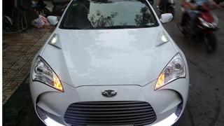 Aston Martin replica based on Hyundai Genesis