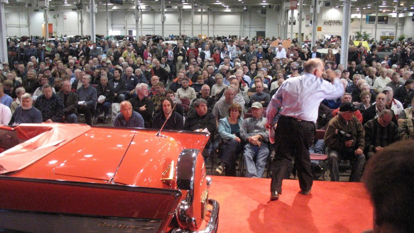 Classic car auction: A rare chance to nab a legend