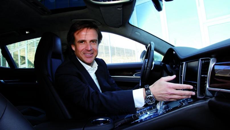 Porsche style guru goes old school