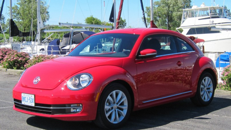 Volkswagen recalls 2,500 Beetles in U.S., Canada
