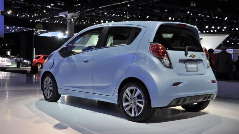 L.A. Auto Show: Little Spark has big availability problem