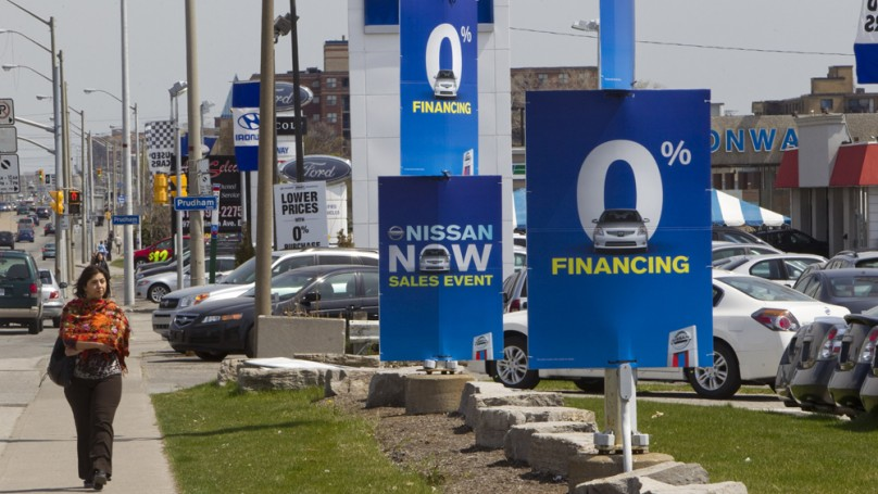 No free ride when financing a new vehicle