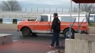 Insider Report: Parking lot drifter fail