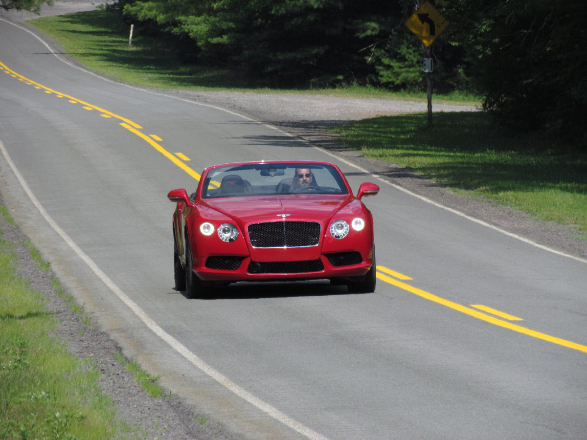 Best of 2012: A Bentley, road trip and a big bike win