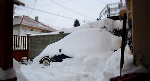 Think you've got it bad? Try digging out of this snowfall