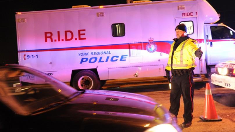 Mega-RIDE spot check cracks down on drunk drivers