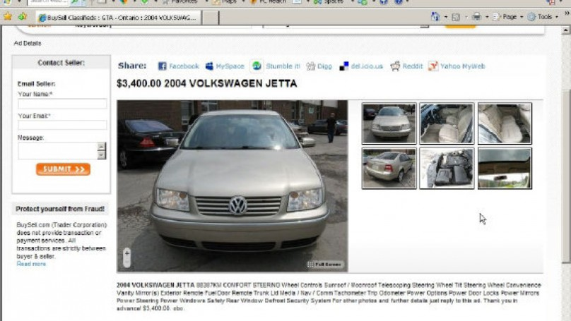 Buying a car online? Don?t get scammed