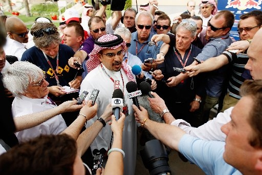 Why is F1 still planning to race at Bahrain in 2013?