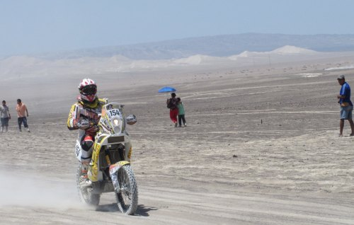 Update from Dakar: Another day, another Canuck down