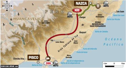 Day 3 update from the Dakar Rally
