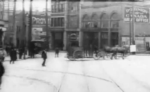 Really vintage dash cam footage: Vancouver 1907