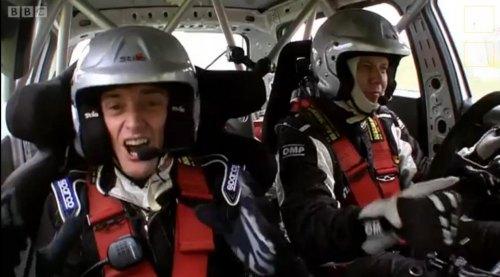 Insider Report: 'Top Gear' pits Rocket Man vs. Rally Car