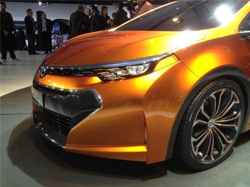 Detroit auto show: Toyota hints at meaner, sportier new Corolla