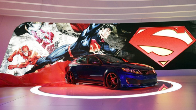 Chicago Auto Show: Kia unveils Superman Optima