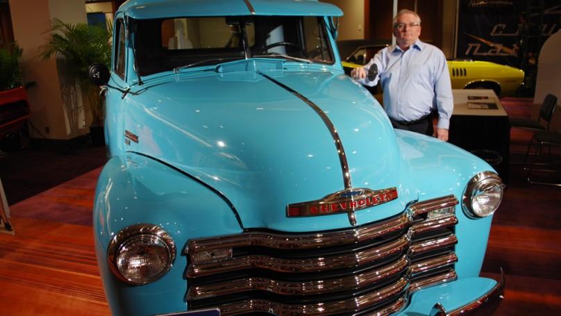 Traffic Jams: '53 Chevy pickup