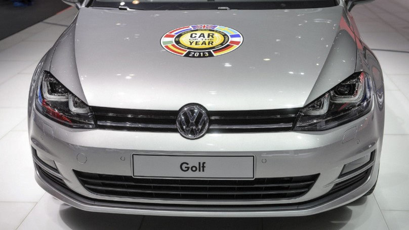 Volkswagen's Golf named Europe's Car of the Year