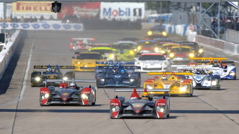 F1 qualifying postponed; Audi hybrid on Sebring pole