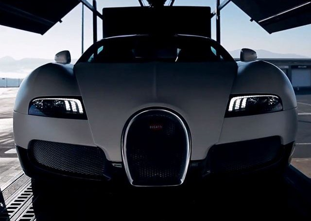 Eye candy: Bugatti Veyron GS <br>laps the Fuji Speedway