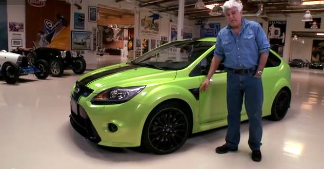 Jay Leno's famous garage gets <br>a visit from a 420hp Focus RS