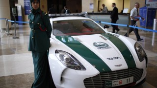 Dubai police add more 'sweet' <br>to their fleet
