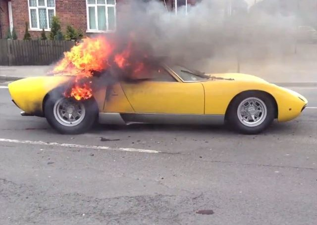 Scorched Miura, once pronounced dead, may get a second chance