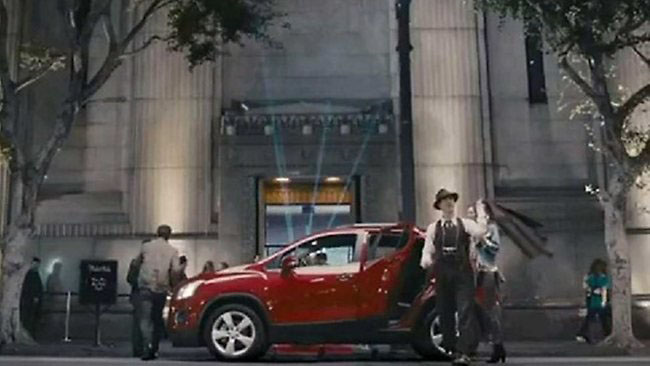 GM pulls ad because of its <br>'ching-ching, chop suey' lyrics