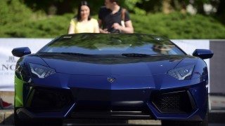 Eye Candy: Lamborghini celebrates 50 years with road tour of Italy