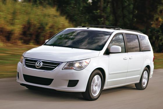 2009 12 Volkswagen Routan A Caravan In Vw Clothing