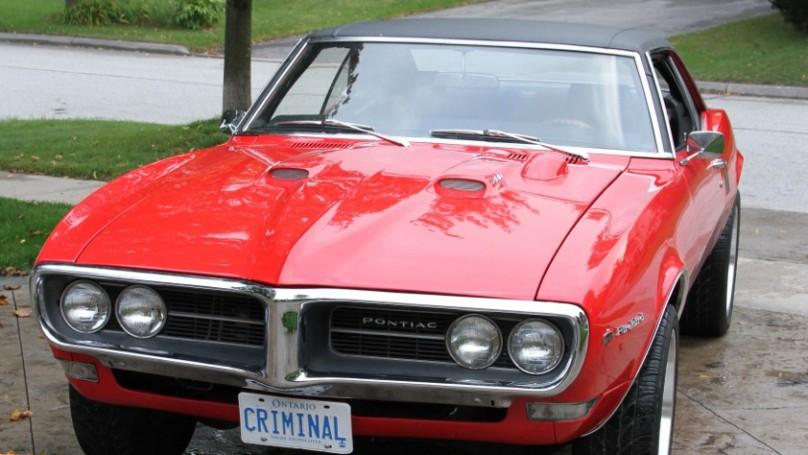 Eye Candy: 1968 Firebird