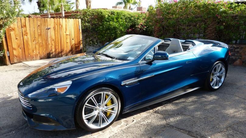 Review: 2014 Aston Martin Vanquish Volante