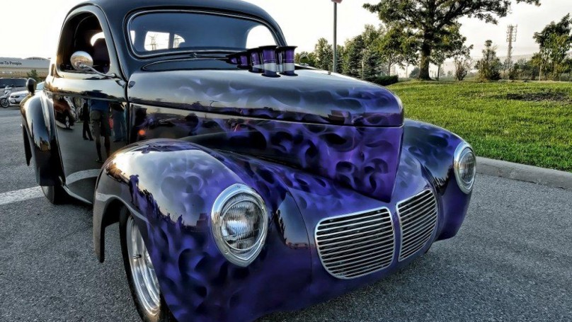 Eye Candy: 1941 Willys Coupe