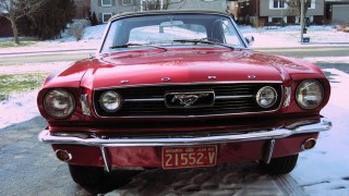 Eye Candy: 1966 Mustang convertible