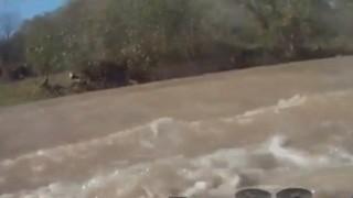 Insider Report: Calmest men in the world drive into river, shrug