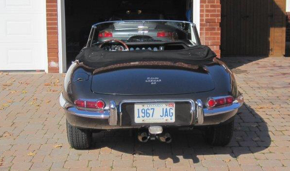 Eye Candy: 1967 Jaguar E-Type