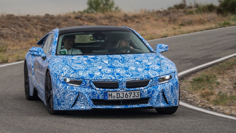 <b>Jil McIntosh's 2013 memories</b> Secretive i8 test drive was a thrill