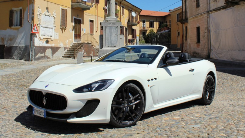 Review: 2014 Maserati GranTurismo convertible MC