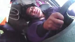 Insider Report: Woman rolls car, doesn't bat an eyelash