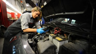 Many auto dealers offer spring maintenance packages that include services such as a visual mechanical inspection, oil and filter change, top-up of all fluids, tire rotation, an inspection of the charging system and more.