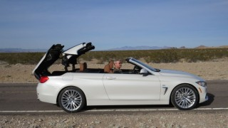 Preview: 2014 BMW 4 Series cabriolet- Nevada cops spoil BMW's fun in the sun