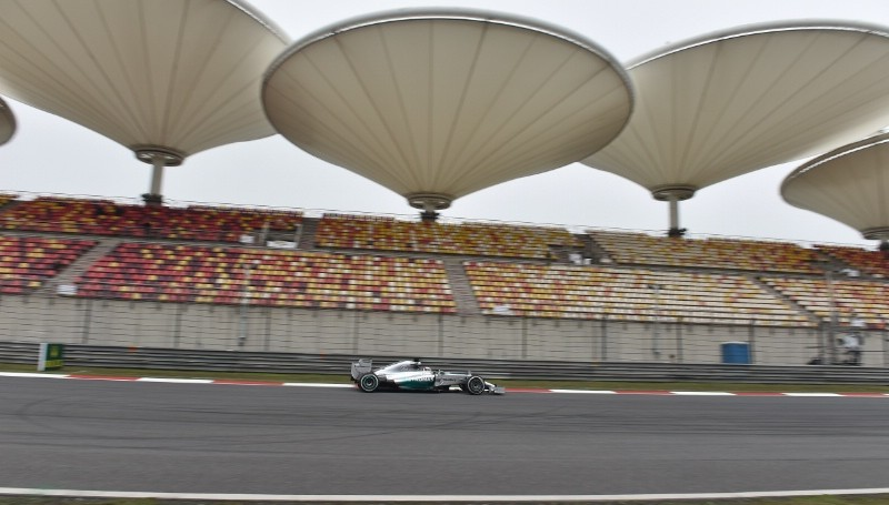 Hamilton wins China F1 but how come the place was half-empty?