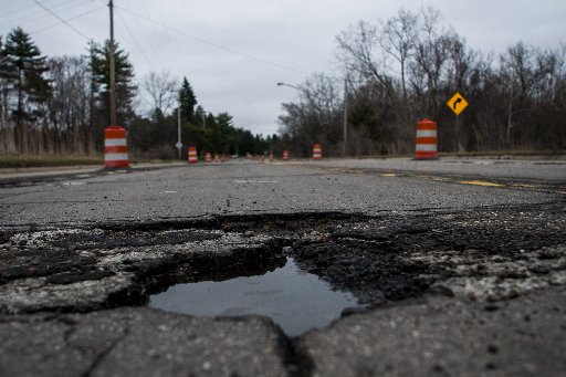 Jim Kenzie wants to declare war on potholes through a website, potholes.com