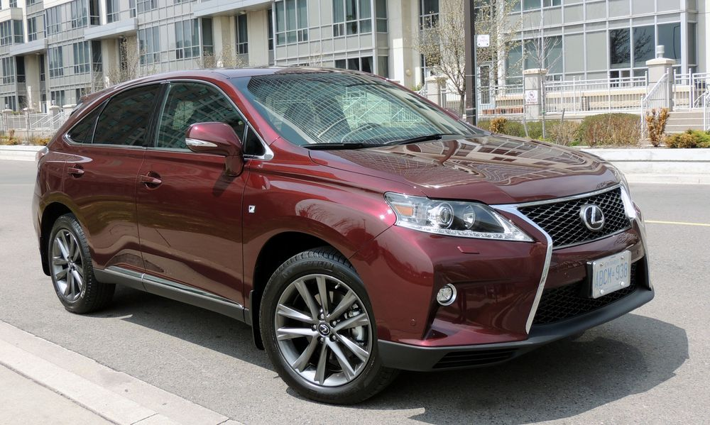 lexus rx 350 2014 review practicality with panache in. Black Bedroom Furniture Sets. Home Design Ideas