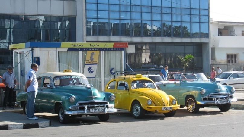 Not just old cars in Cuba -Now that it's legal to buy, sell vehicles, people are saving up