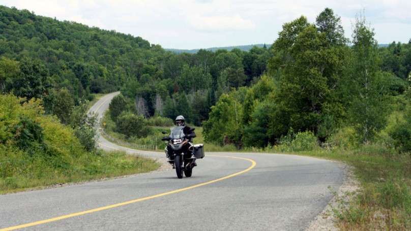 Riding the Ontario Highlands
