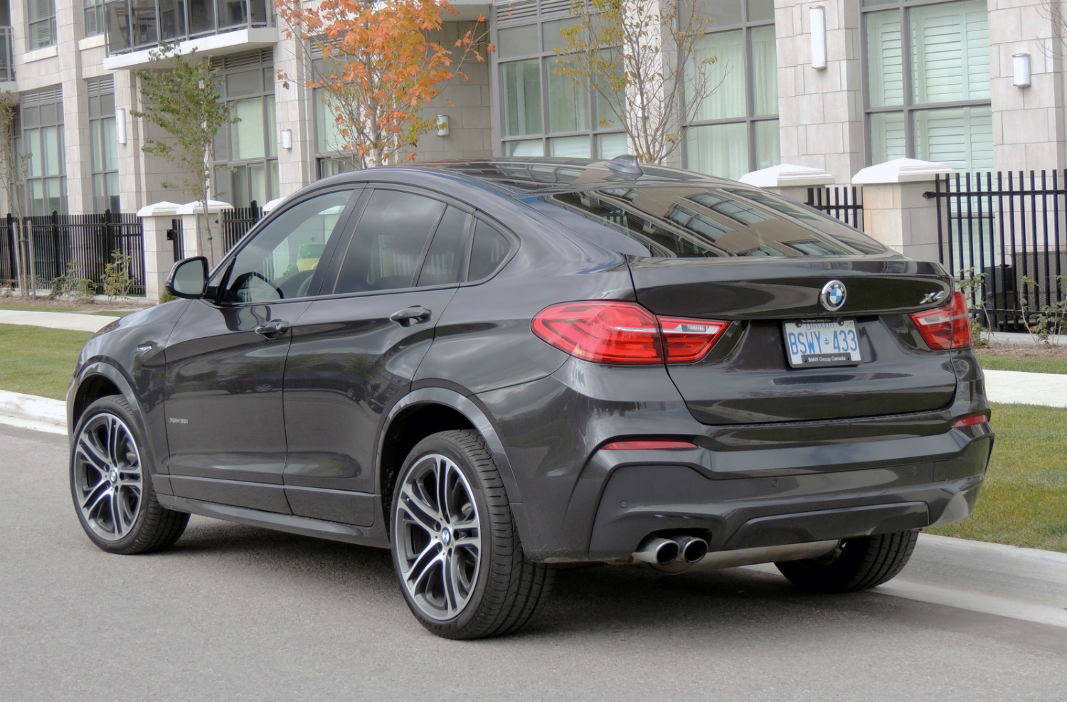 2015 Bmw X4 Review Wheels Ca