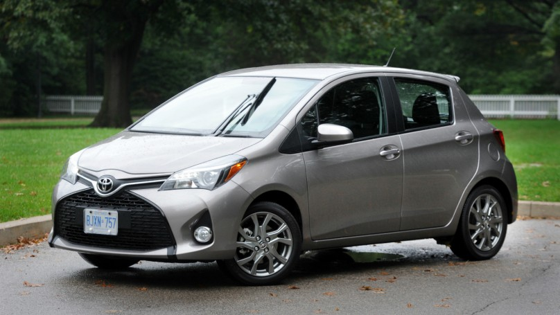 2015 Toyota Yaris Hatchback Se Review Wheels Ca