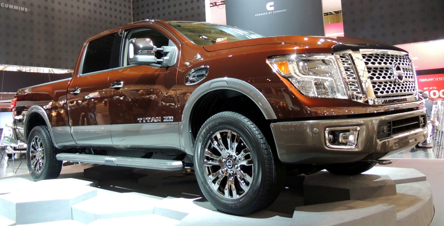 Perfect 2016 Nissan Titan XD First Look  WHEELSca